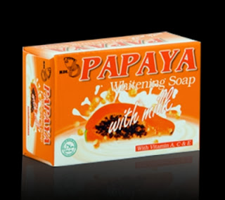 RDL Papaya Soap with Milk is one of my favorite whitening soap to use ...