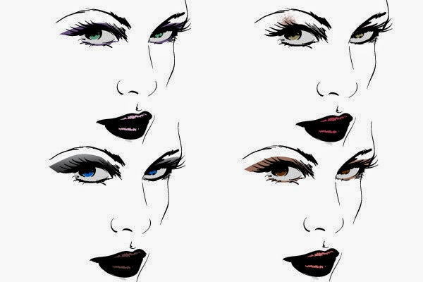 makeup  the best eyeshadow for your eye color