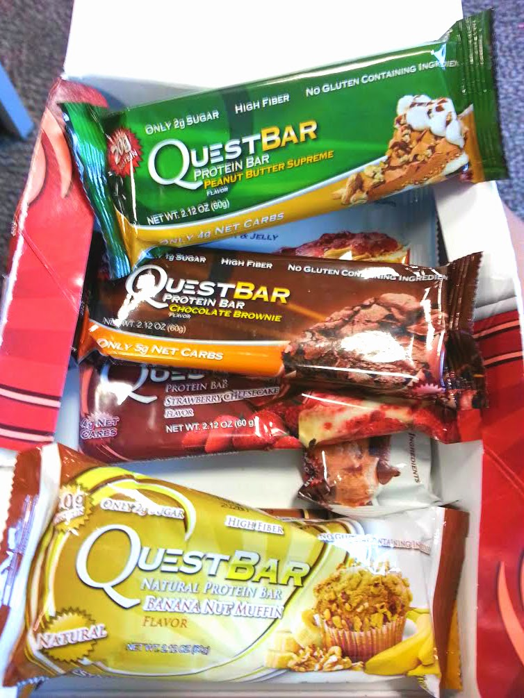 Food quest bars protein bars yummy top beauty and for Muscle food quest bar