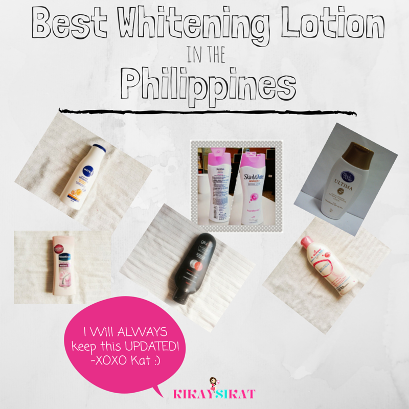 12 of the Best Whitening Lotions in the Philippines (updated August 2017) - Top Beauty and Lifestyle Blog on Makeup, Skincare, Fitness, Tech, Food, Travel