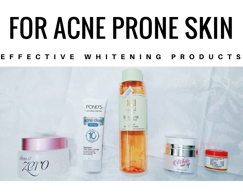 whitening-products-for-acne-prone-skin