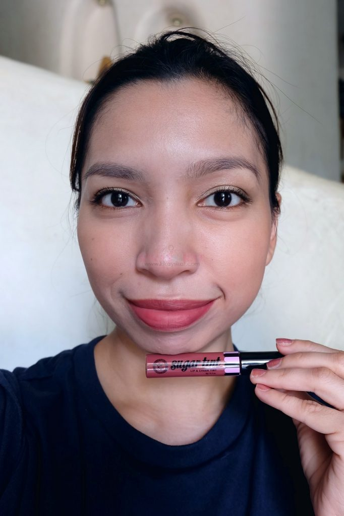 pink sugar lip and cheek tint in queen bee