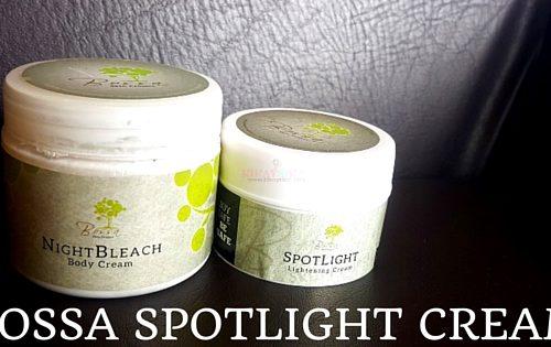 bossa lightening cream