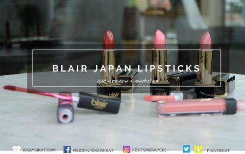 blair-japan-lipsticks-review