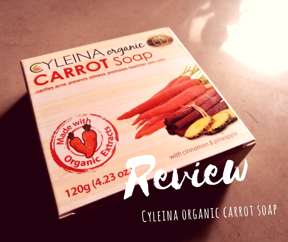 cyleina-organic-carrot-soap-review