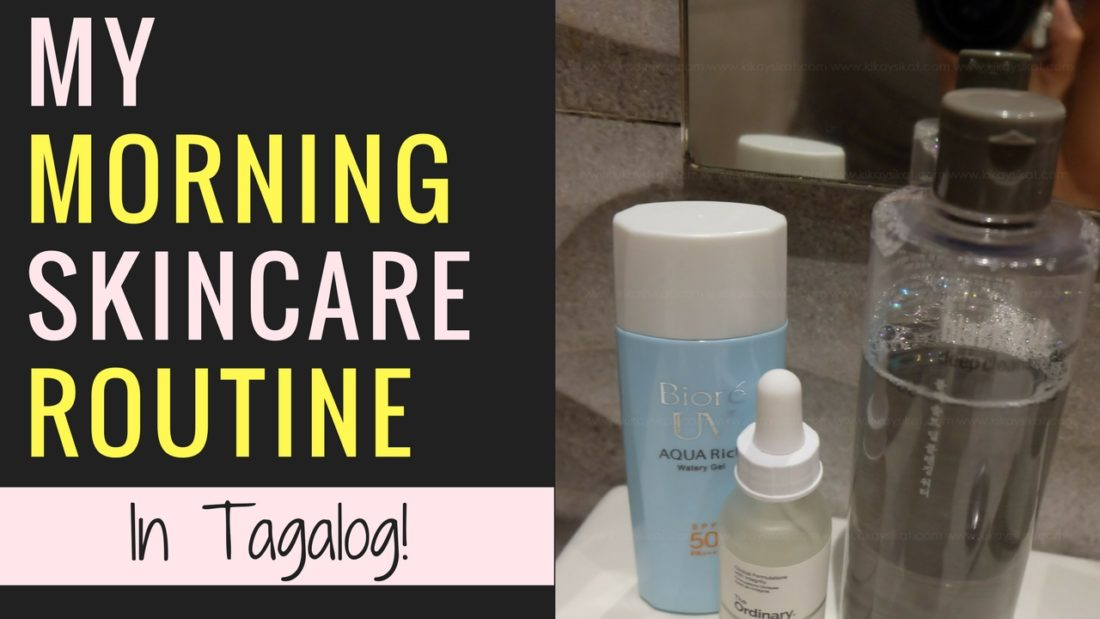 Skin care regimen philippines blog