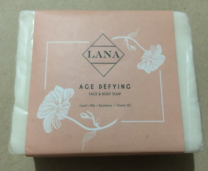 LANA Age Defying Face & Body Soap Review