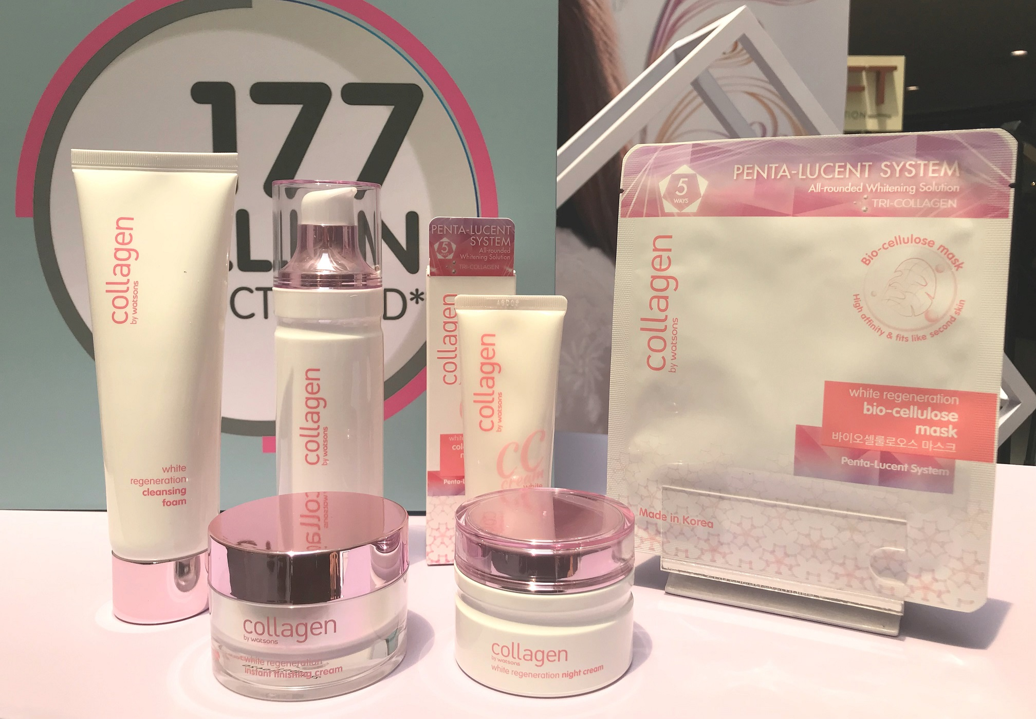 Watson's Launches their Very Own Collagen Line in the Philippines