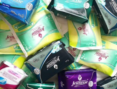 jeunesse anion sanitary pads