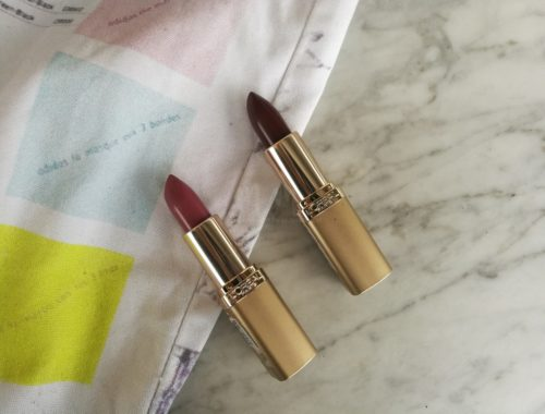 color riche lipstick luxurious lipstick loreal