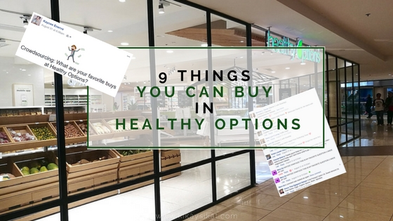 9 Things You Can Buy in Healthy Options