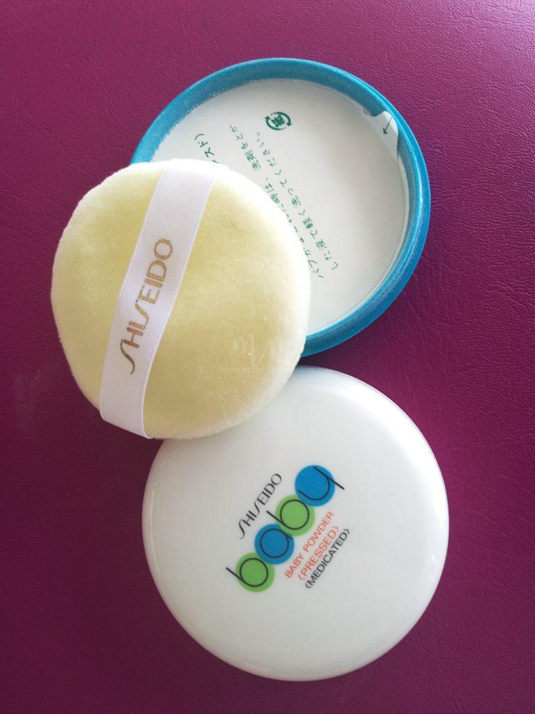 shiseido medicated baby powder