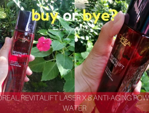 L'OREAL REVITALIFT LASER X 3 ANTI-AGING POWER WATER (1)