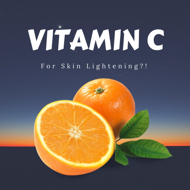 vitamin c for skin whitening