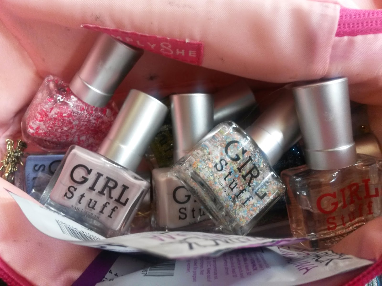 Glow in the Dark Nails with Girl Stuff Solique - Top Beauty ...