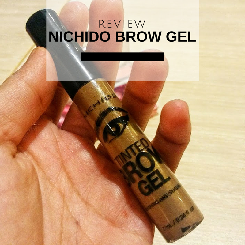 Review Nichido Brow Gel A Mac Brow Set Dupe Top Beauty