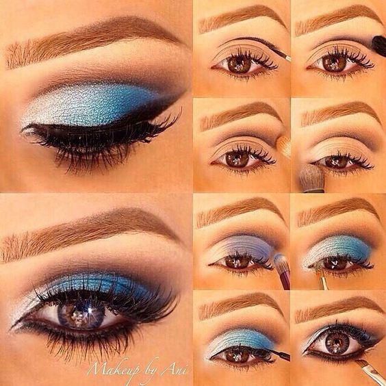 Part 1 30 Easy Eyeshadow Ideas Step By Step Tutorial