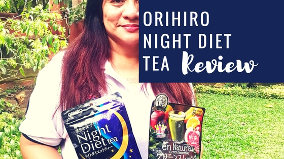 Orihiro Night Diet Tea Review Slim While You Sleep Top Beauty