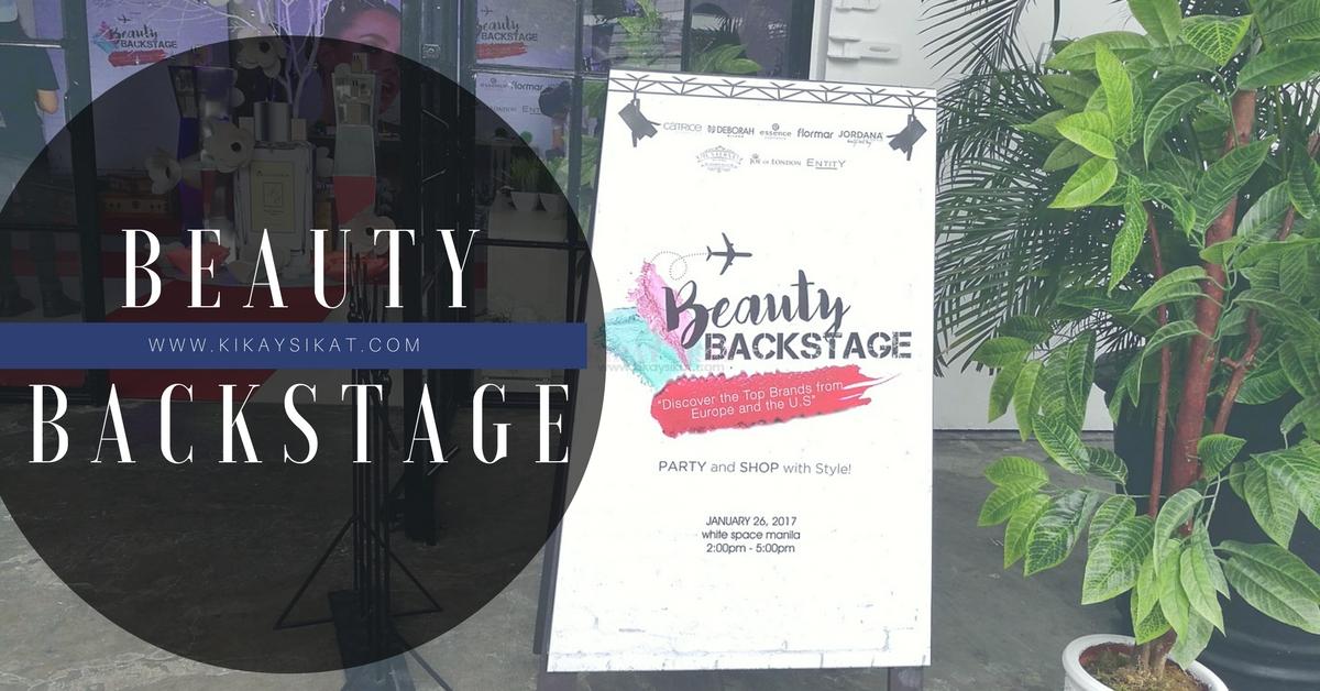 beauty backstage