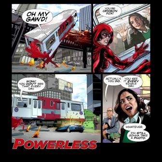 Powerless Comic 1