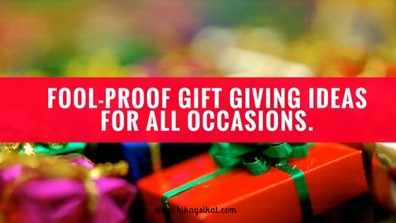 gifts should be given not just on special ocassions the best gifts are received when you least expect it well this wish list is meant for me