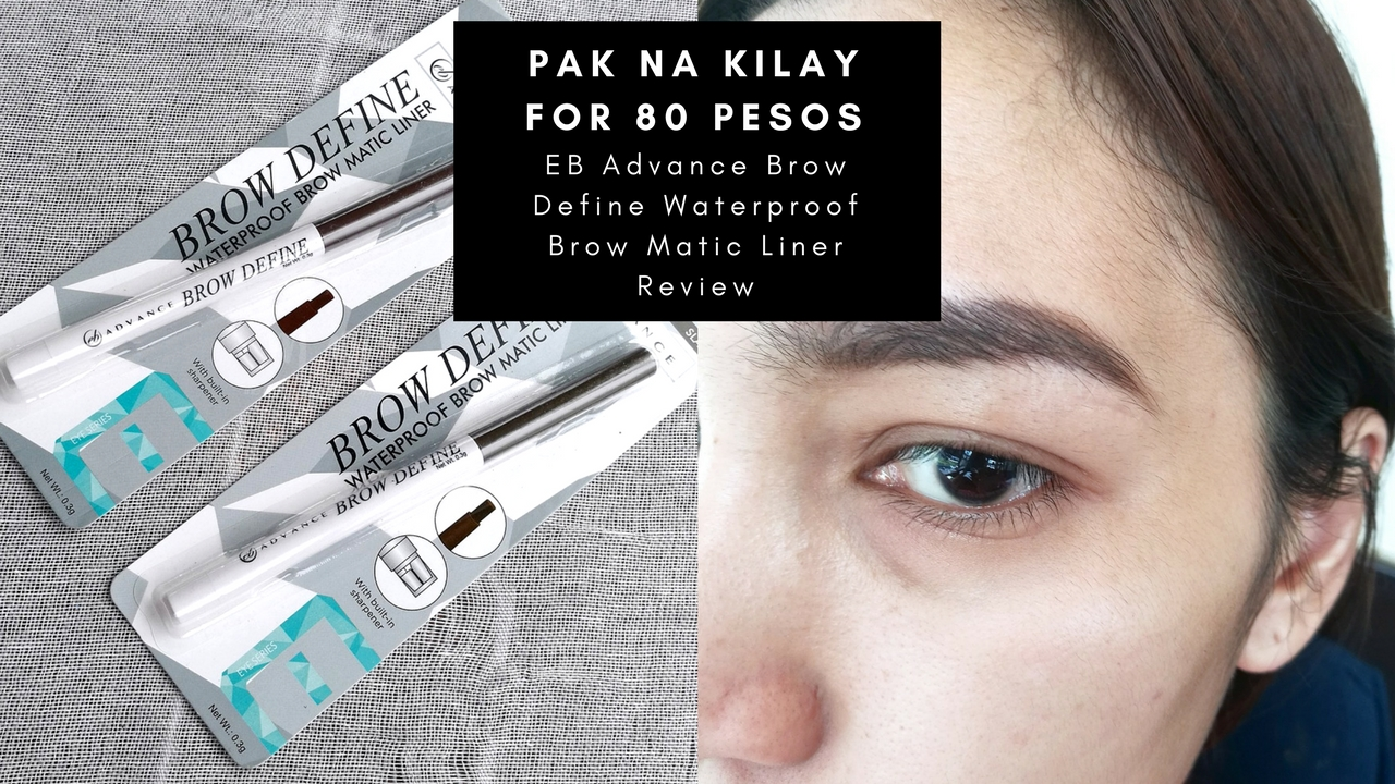 EB Advance Brow Define Waterproof Brow Matic Liner Review