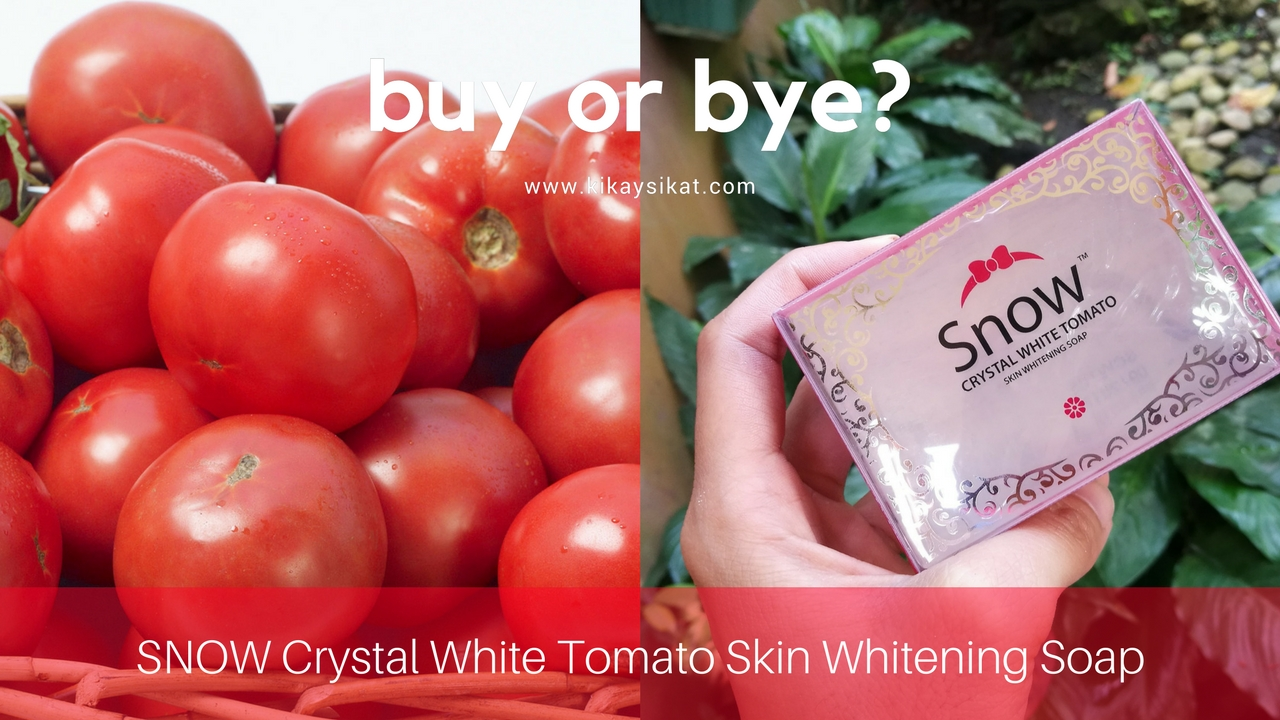 snow crystal white tomato skin whitening soap