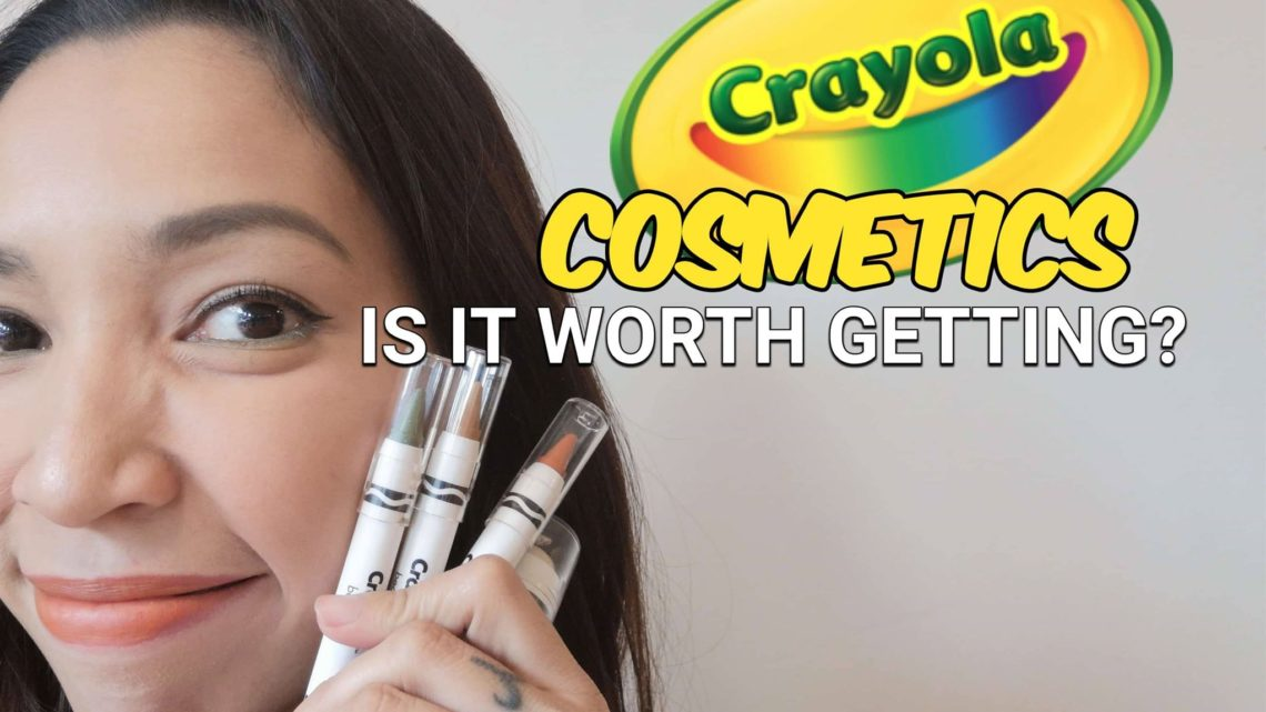 crayola beauty cosmetics review is it worth getting face crayon