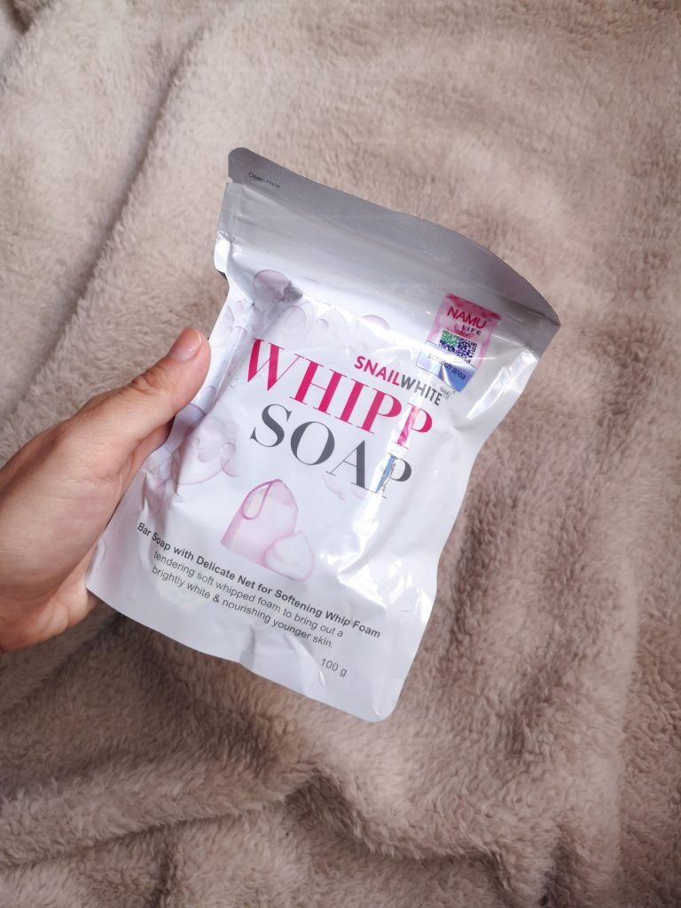 Snail White Whipp Soap Review