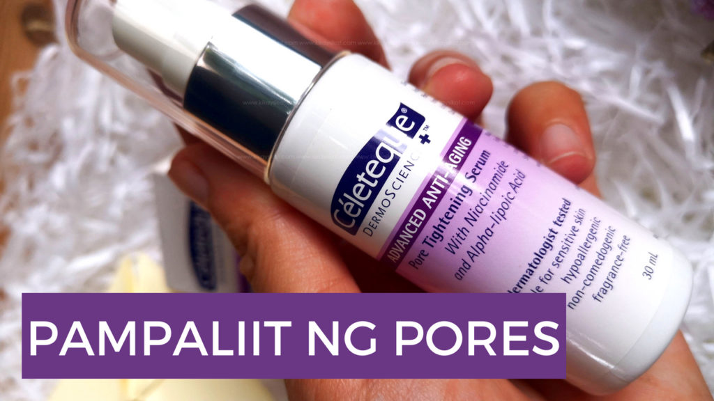 celeteque pore tightening serum