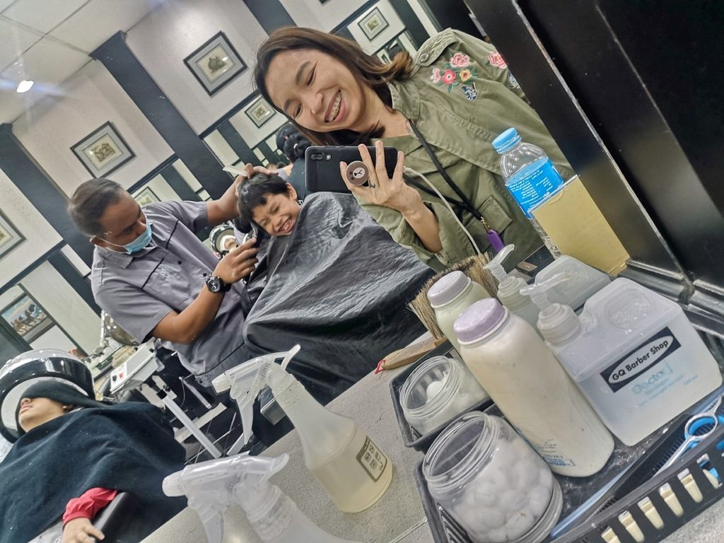 brunos barbers haircut for boys