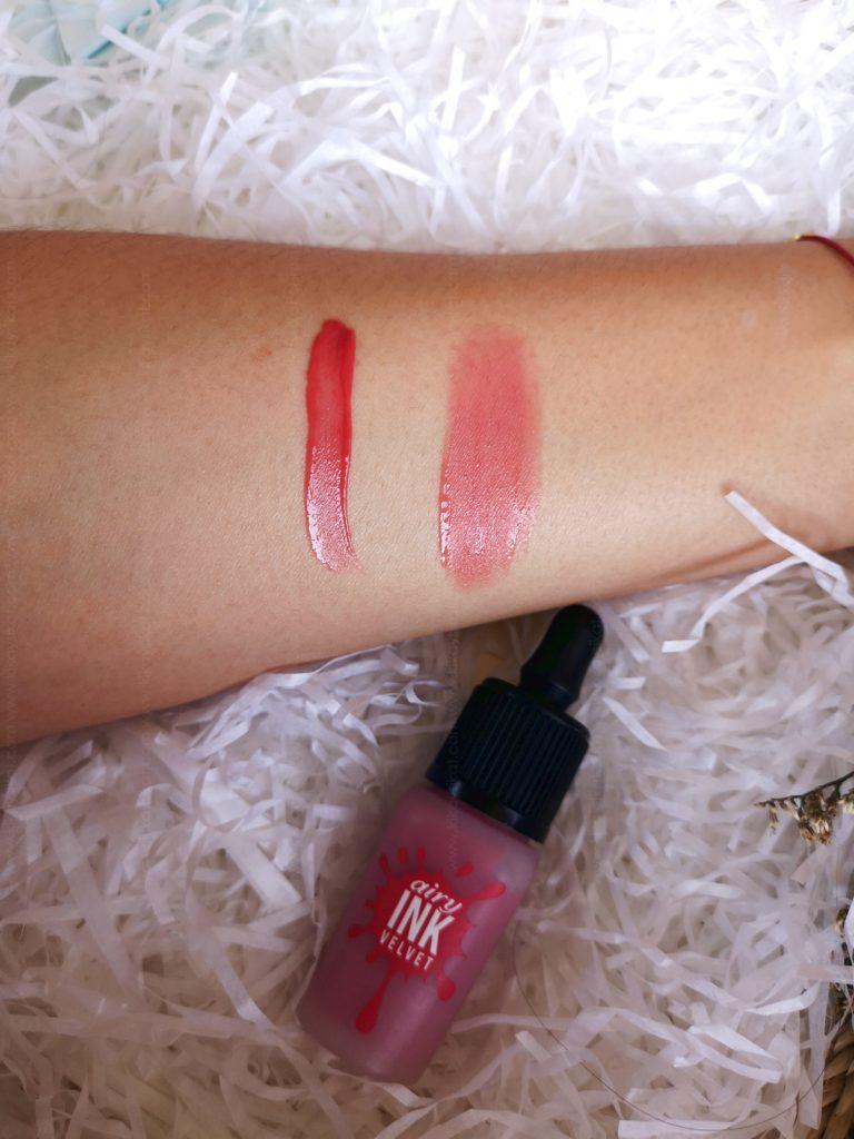 Peripera Airy Ink Velvet in Elf Light Rose