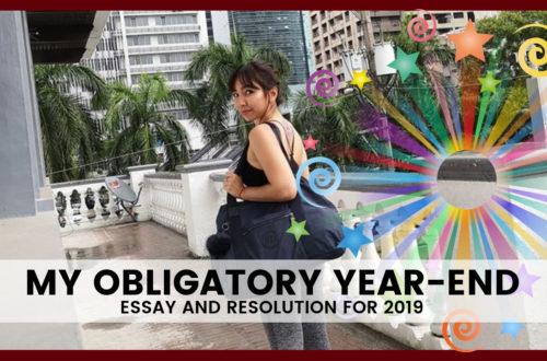 OBLIGATORY YEAR END ESSAY