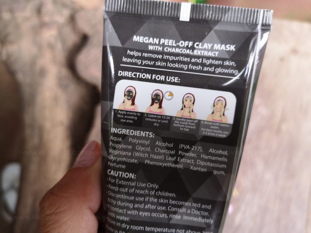 Megan Charcoal Clay Mask