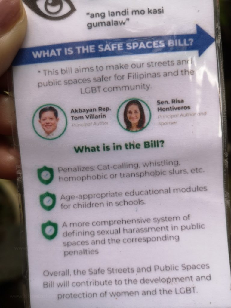 Safe Streets and Public Spaces Bill