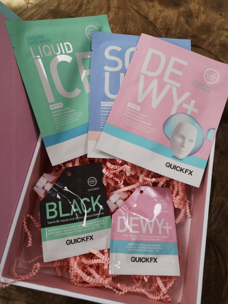 QuickFX Dewy Face Mask