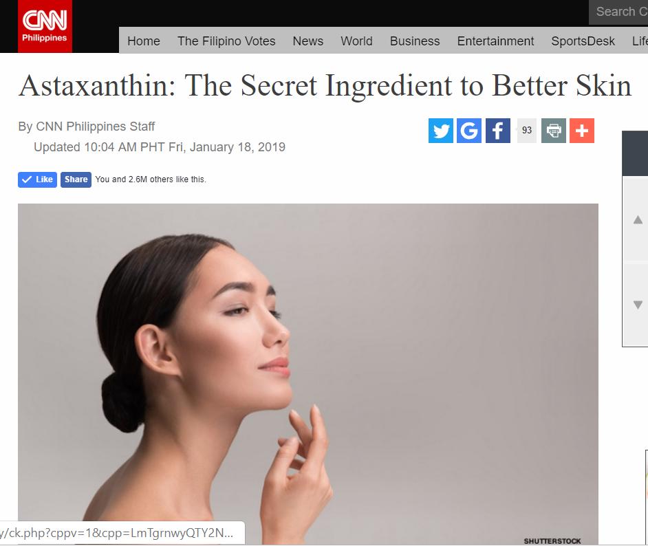 CNN Astaxanthin