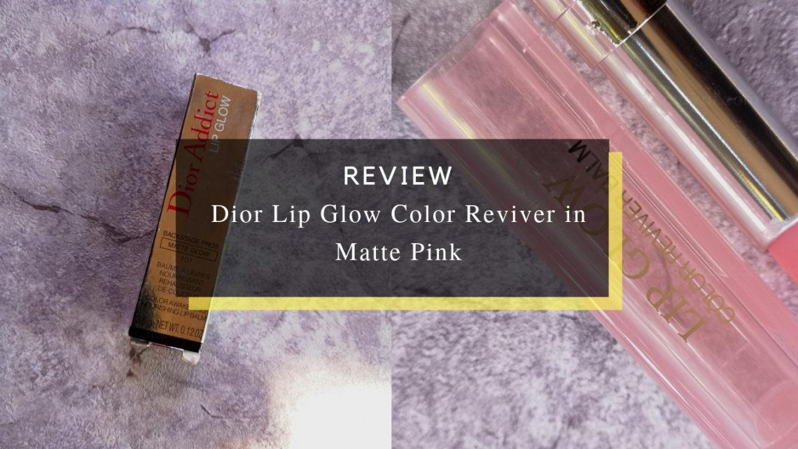 Dior Lip Glow Color Reviver in Matte Pink