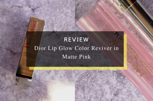 Dior Lip Glow Color Reviver in Matte Pink
