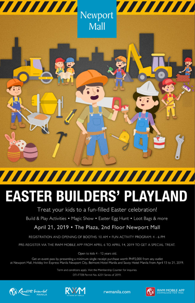 Spend Your Easter at Resorts World Manila and Build Great