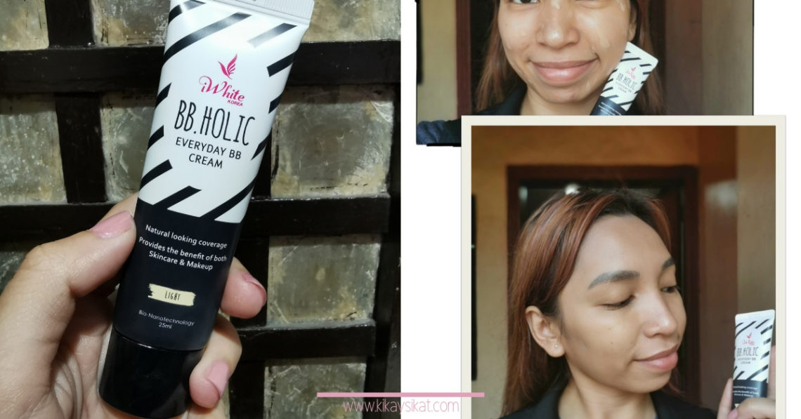 iWhite Korea BB Holic Everyday BB Cream Light Review
