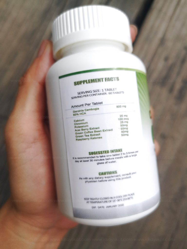 Review Oxifit Garcinia Cambogia Benefits Side Effects Kikaysikat